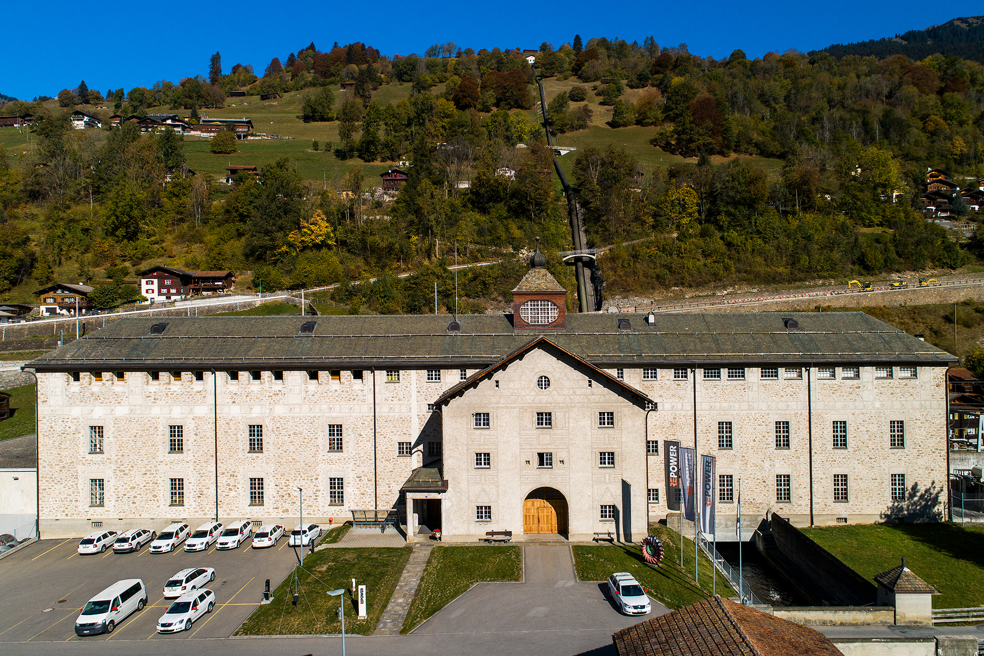 Wasserkraftwerk Küblis